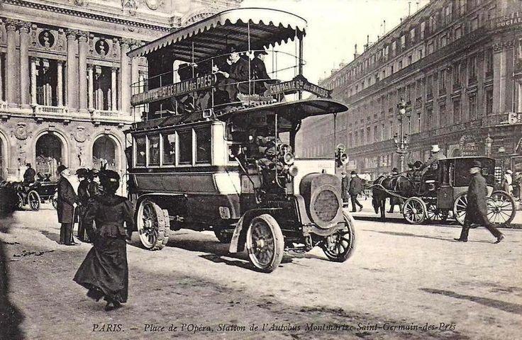 1900 - Paris, Place de l'Opéra