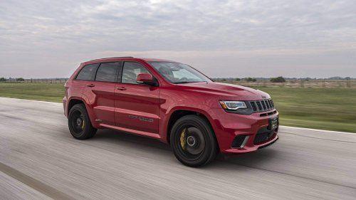 Hennessey Tuned Jeep Grand Cherokee Trackhawk Breaks 1 000 Hp