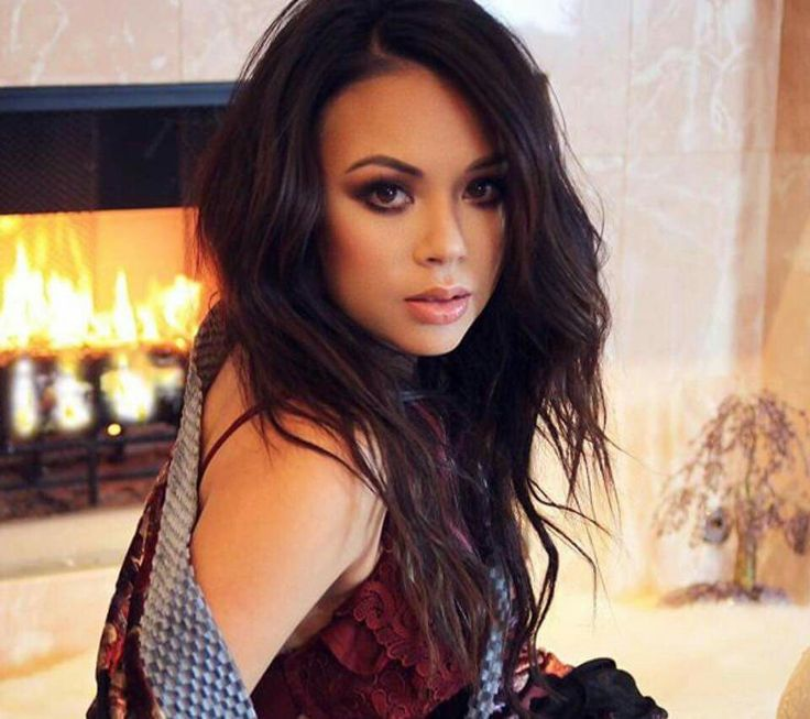 When you're hotter than the fire behind you.    Photo via Janel Parrish.