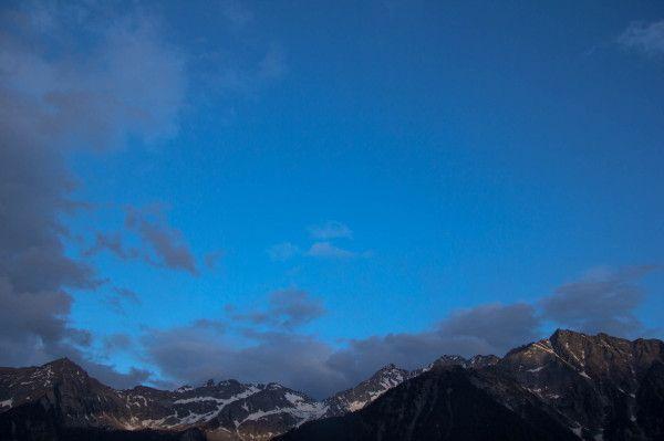 Mountain peaks in Ahrntal - Valle Aurina