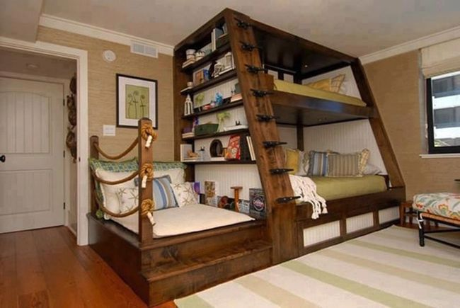 12 Designs That Take Everyday Objects To The Next Level. [STORY] --- love this idea for a grandkids room!