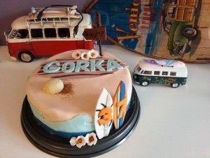 tarta surfera