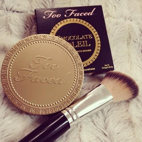 Too Faced Bronzer in Chocolate Soleil...I will never be without it!