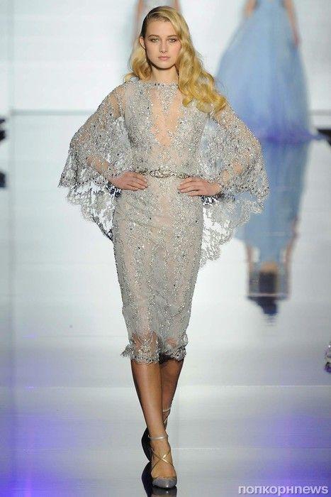 Модный показ новой коллекции Zuhair Murad Haute Couture. Весна / лето 2015- popcornnews