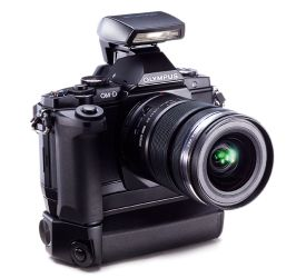 """5 stars from PC Mag for the Olympus OM-D. They call it """"the best Micro Four Thirds camera we've tested."""""""