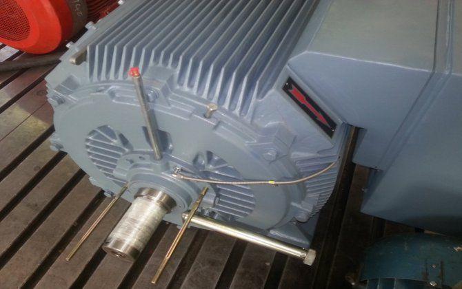 New WEM Medium Voltage Motor - 275kW 2P 6600v | Indusquip Marketing: Electric motors & drives