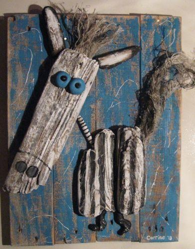 noordzeekunst jutkunst van juthout - kunst objecten van juthout