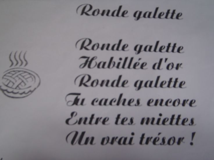 Ronde galette. Nelly CV.