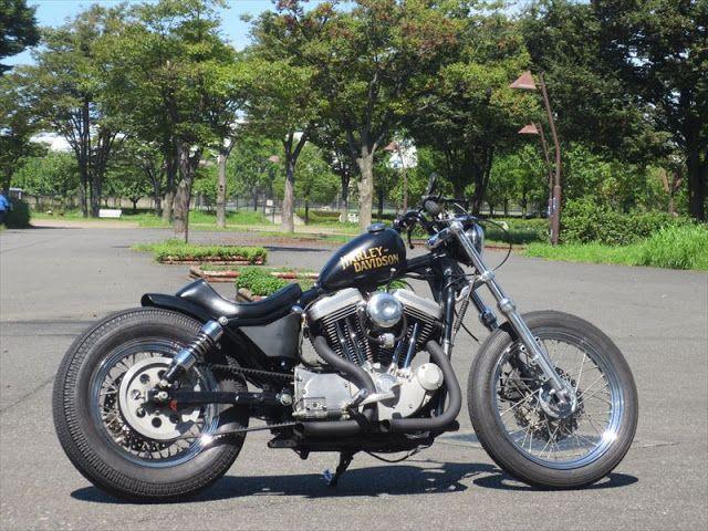 ϟ Hell Kustom ϟ: Harley Davidson Sportster By Eccentric Motorcycles...