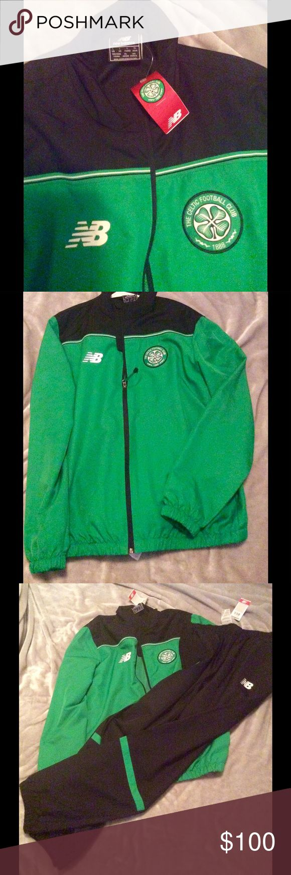 OFFICIAL GLASGOW CELTIC TRACK SUIT NEW BALANCE Bought from Parkhead at Celtic FC club shop. New with tags beautiful embroidered match gear. Only sold at Celtic football shop! New Balance Other