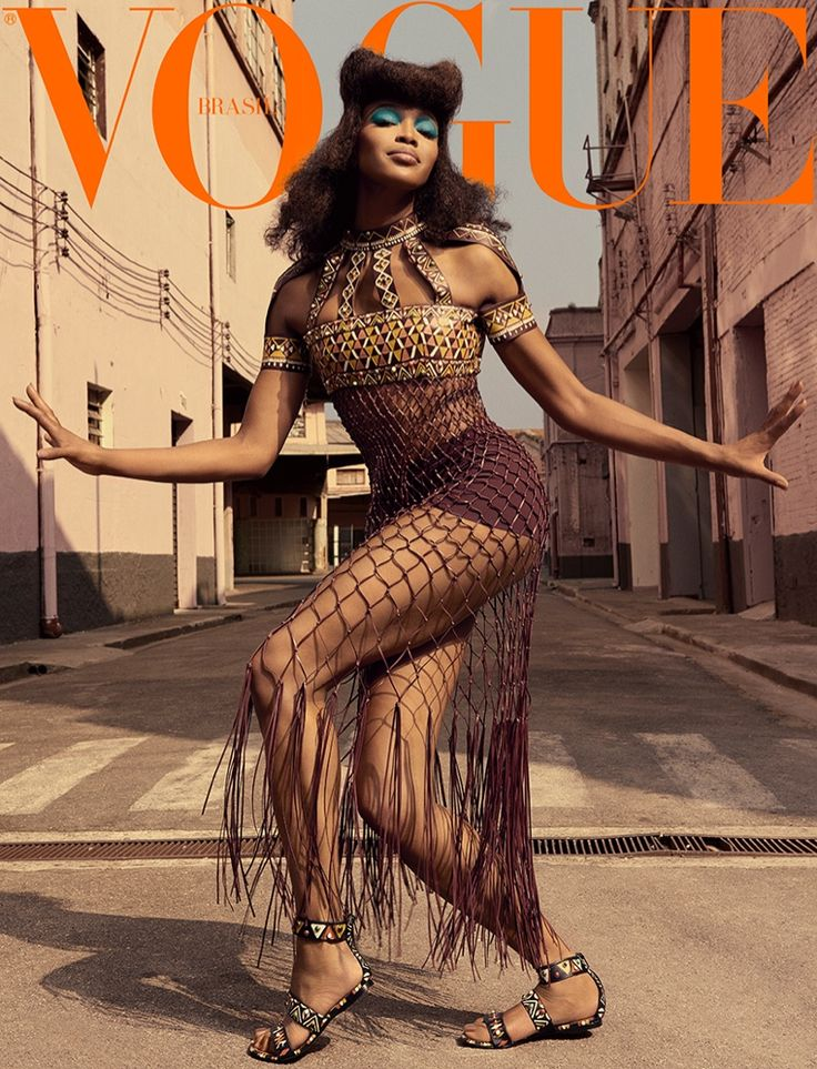 Naomi Campbell lands not just one, but three covers for the May 2016 issue of Vogue Brazil. Modeling for over twenty years, the supermodel works each shot for the fashion glossy which celebrates its 41st anniversary this year. One of the main editorials, captured by Zee Nunes, showcases the British stunner in a different light, wearing eclectic looks selected by fashion editor Pedro Sales. Looking part punk and part avant-garde goddess, Naomi poses on the streets in looks from the spring…