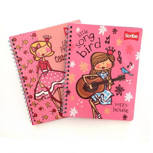 Happy House Little Princess Notebooks from Scribe