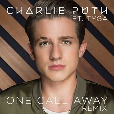 I just used Shazam to discover One Call Away (Remix) by Charlie Puth Feat. Tyga. http://shz.am/t293574217