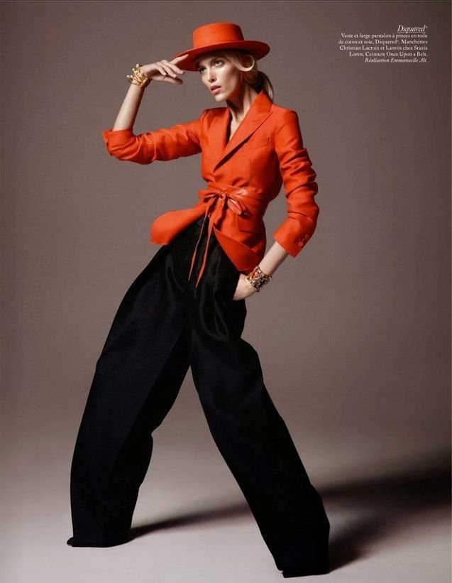 Studio Vogue: Vogue Paris February 2015 by David Sims [Spring 2015 Collections]