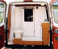 camper van with bathroom - Google Search