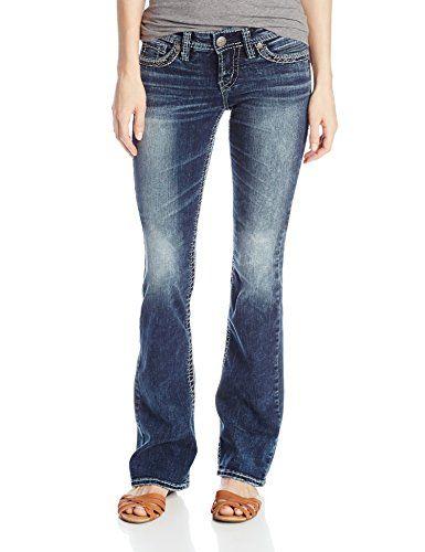 Silver Jeans Juniors Suki Low Rise Bo... $59.99 #bestseller