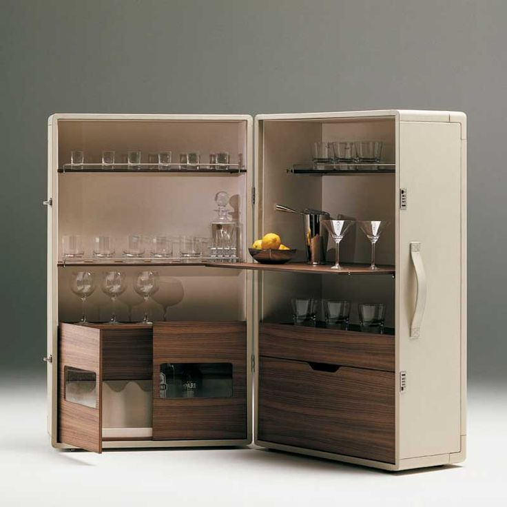 ISIDORO BAR CABINET designed by Jean-Marie Massaud. Available through Switch Modern.