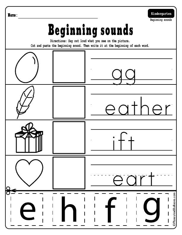 Pin On Kindergarten Worksheets Free Printables
