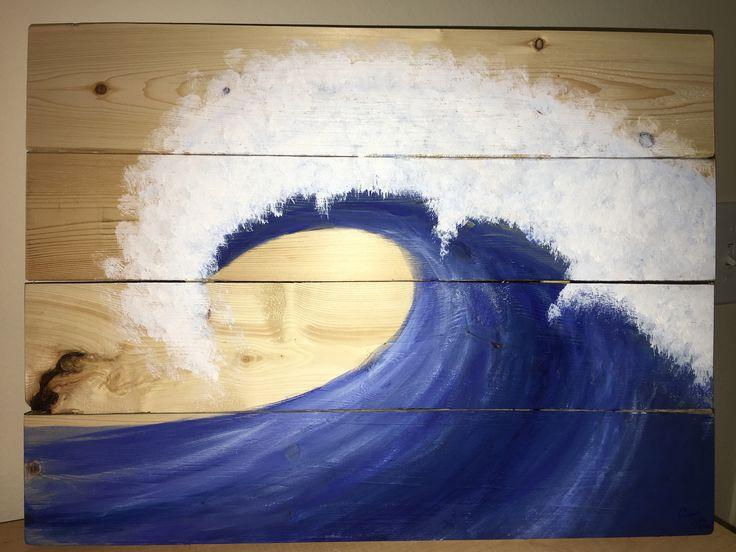 Blue Canvas Art Diy: 47 Best Alayna's Art Images On Pinterest