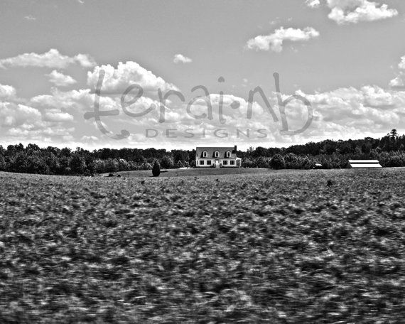 House Black and White Photography in motion. by terainbDesigns