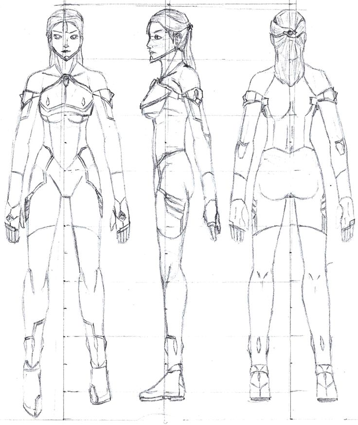 Sheet Model Template 3d Character
