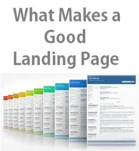 Good landing page