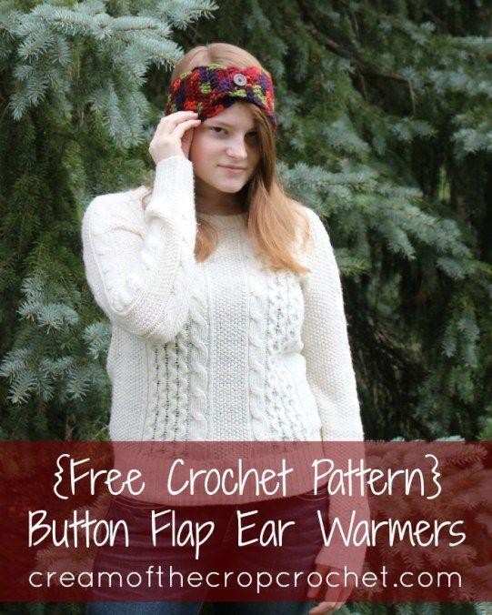Mejores 265 imágenes de headband en Pinterest | Ideas de ganchillo ...