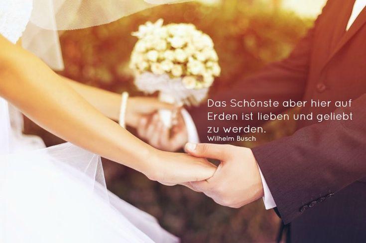 weise Hochzeitswünsche von Wilhelm Busch