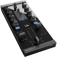 The New Traktor Kontrol Z1 - It controls the Traktor Pro DJ software AND connects to iPads, iPhones and iPod Touch to control the Traktor DJ app.