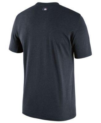 Nike Men's Cleveland Indians Legend Team Issue T-Shirt 1.7 - Blue M