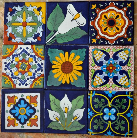 M s de 25 ideas incre bles sobre azulejos mexicanos en for Azulejos sobre azulejos