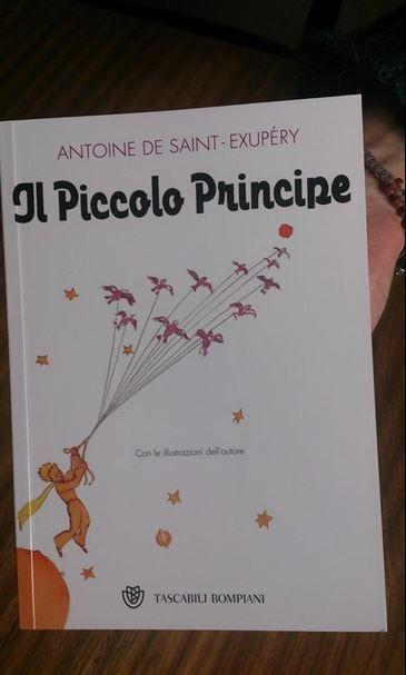 Il Piccolo Principe per la Piccola Biblioteca. Grazie GIlda.