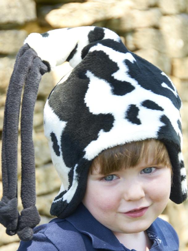 Cow Fur Loopy Hat
