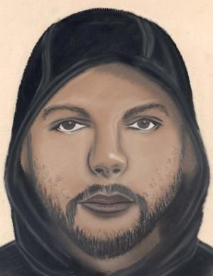 A sketch provided by the Detroit Police Department…