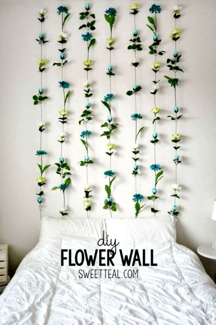 15 Best Room Decorating Ideas For Your Room Diy To Make Diy Flower Wall Dorm Diy Dorm Room Diy