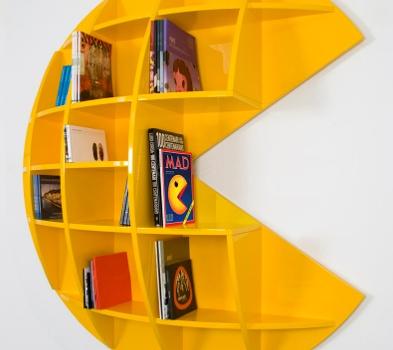 Pac Man Bookshelf My Epic New Room Pinterest