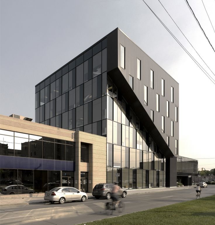 The Winnipeg Regional Health Authority (WRHA), located at 490 Hargrave Street (at McDermotAve), is a six storey, 43,000 square foot office building in downtown Winnipeg, designed to house the government health organization.