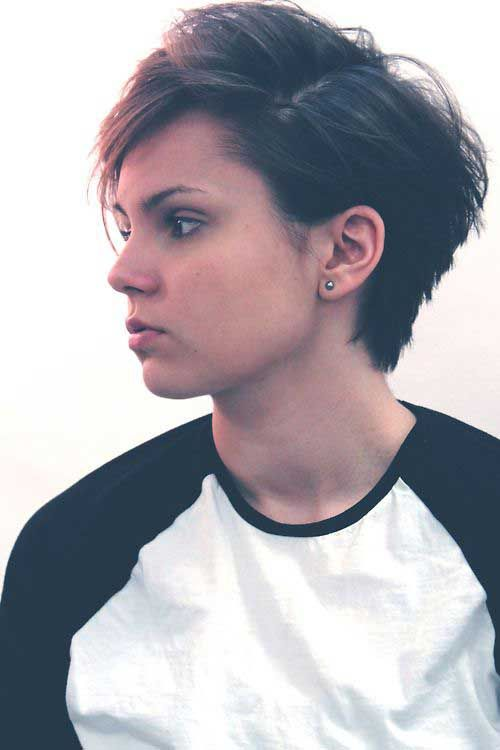 26.Messy Pixie Hairstyles