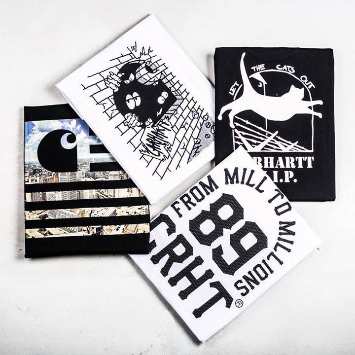 Sprawdźcie nasz dział z koszulkami gdzie znajdziecie między innymi produkty od Carhartt Work In Progress   Zapraszamy!  http://bit.ly/2iQkQCz