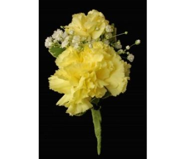 yellow Carnation Corsage   double yellow carnation boutonniere c $ 6 00 add to cart with two ...