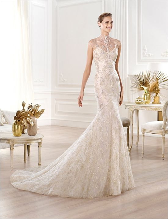 Elie Saab Atelier Pronovias And Pronovias 2014 Bridal