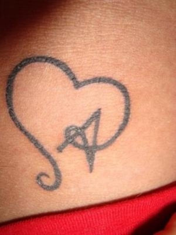 Heart Tattoo Designs (34)
