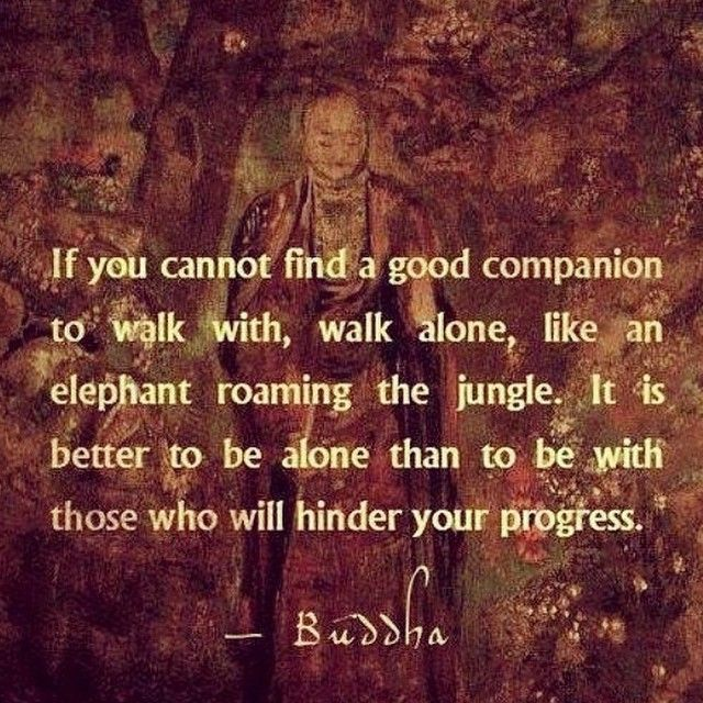 ( It is also better to be alone than to be with someone and be lonely. This was a lesson I had to learn which was painful until I figured it out but worth it in the long run.)