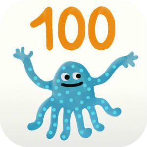 Ganz einfach zählen lernen. Für iPad und iPhone. Bis 100 | Apps für Kinder - myToys #Kinderapps #Zählen #100 #Apps #iPad #iPhone