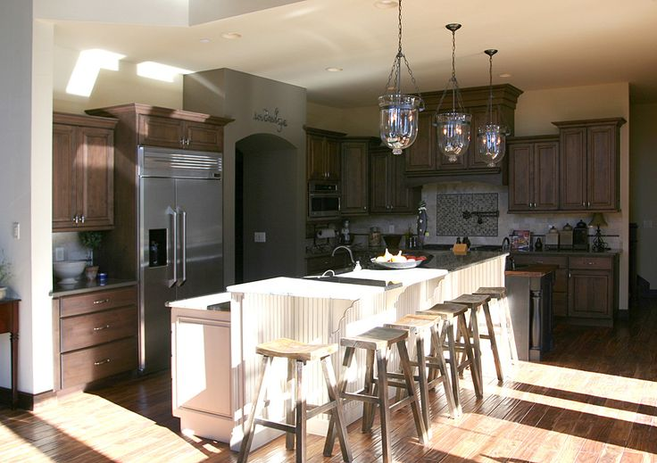 Cabinets on Pinterest  Stove, Two tone kitchen cabinets and House
