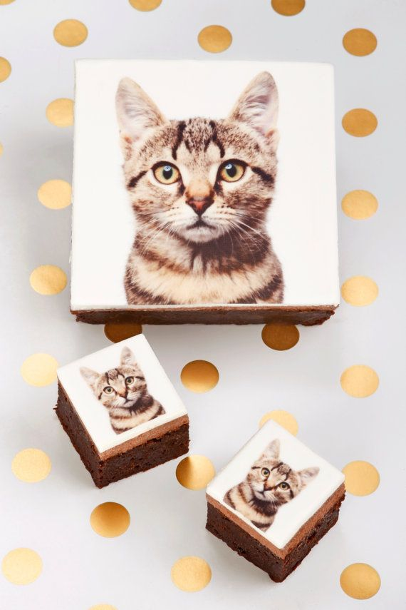 This is amazing! They make chocolates with photos you give them. We could do Baxter ones, or this could be a fun present for a friend.  I love this idea!  Minimallow Photograph