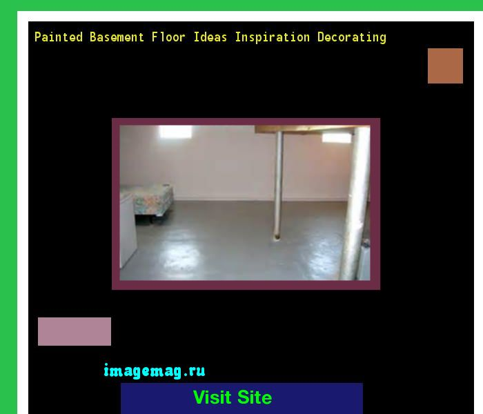 Painted Basement Floor Ideas Inspiration Decorating 171421 - The Best Image Search