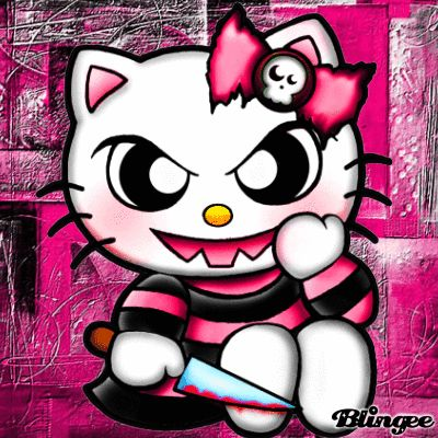 from Lochlan nude emo hello kitty