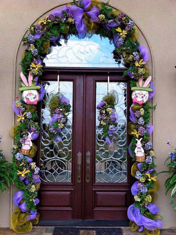 33 best Front Doors images on Pinterest   Christmas front doors ...