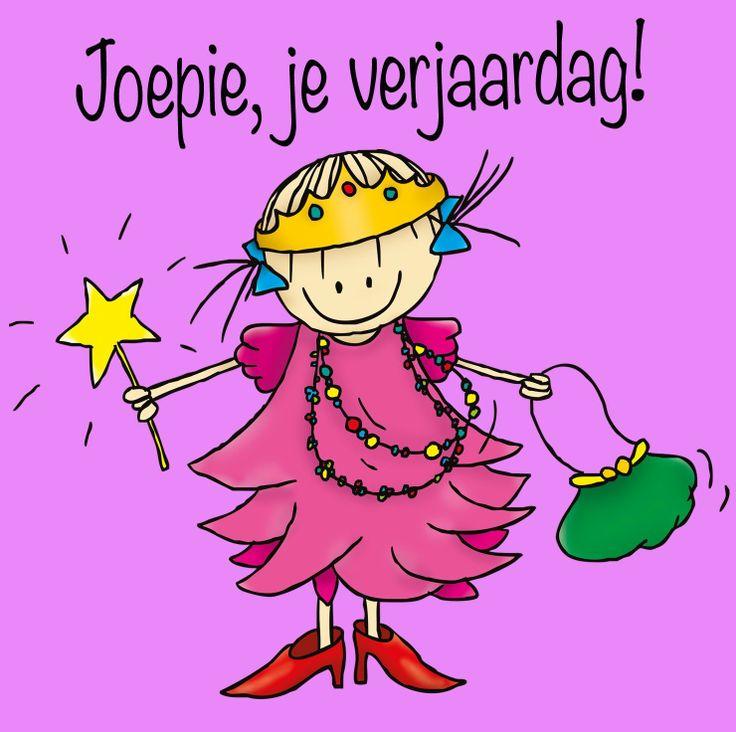 Rueb & Rutje Rube & Rutje wenskaartjes voor kids met dat beetje meer! Rutje Joepie, je verjaardag!